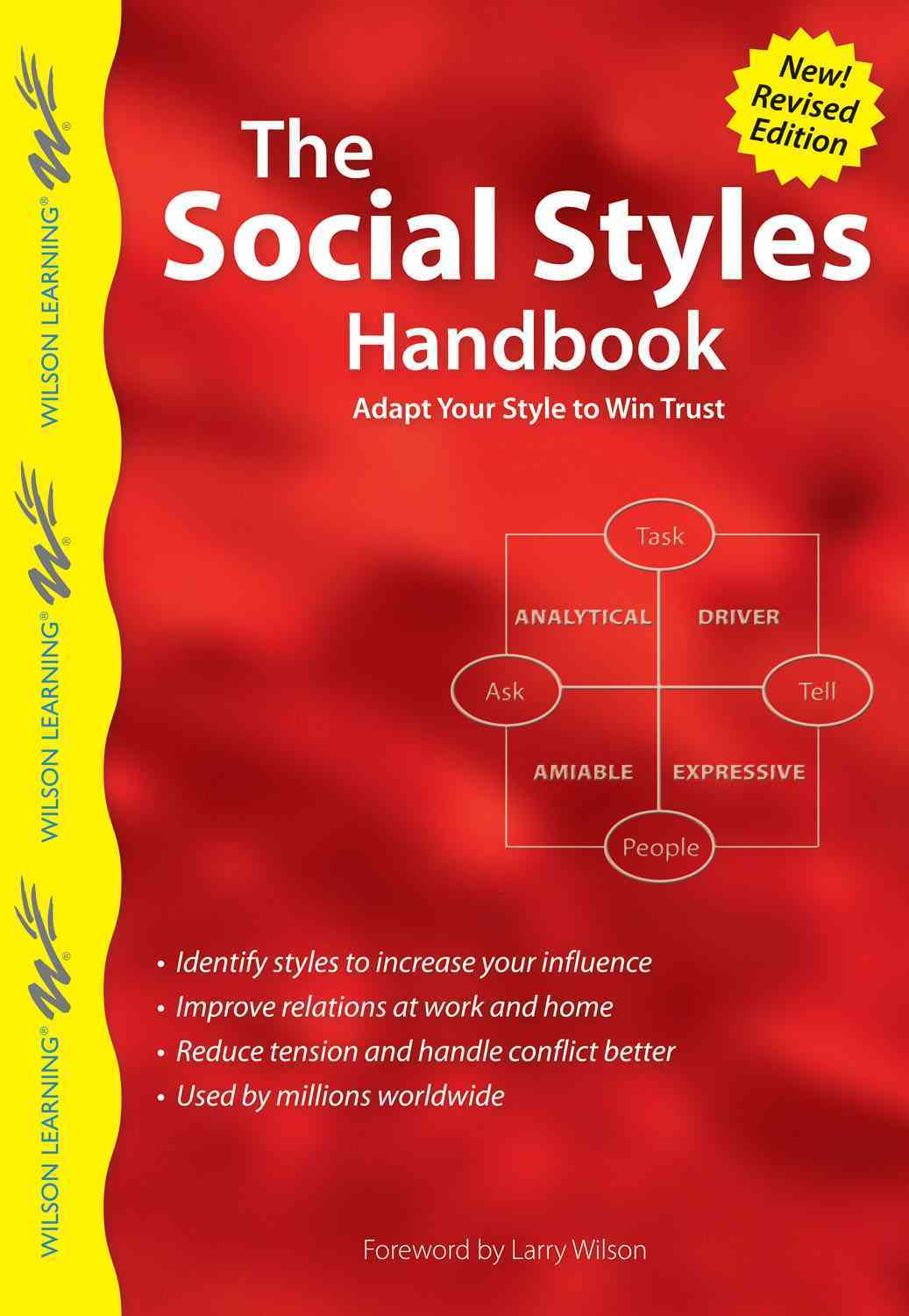 The Social Styles Handbook By Wilson Learning Library/ Wilson, Larry (FRW)